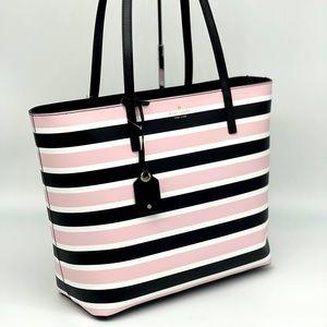 Kate Spade Janie Strip Medium Tote Bag